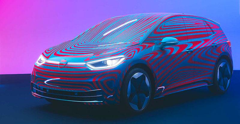 Nouveauté mondiale - Volkswagen ID. 3 enregistre plus de 10.000 précommandes 24 heures après son lancement !