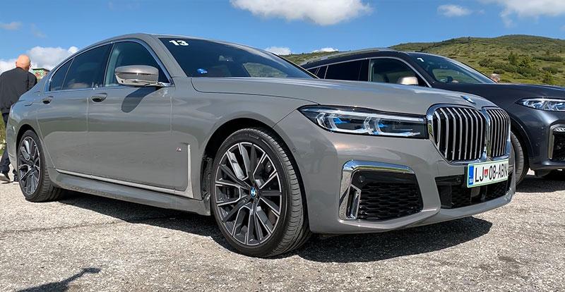 Essai - Grand numéro de charme de la BMW Série 7 restylée