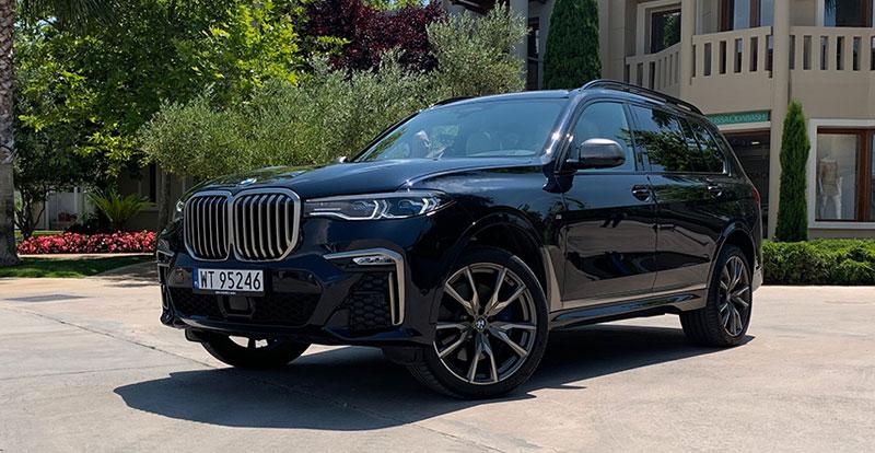 Essai - Au volant du monumental BMW X7