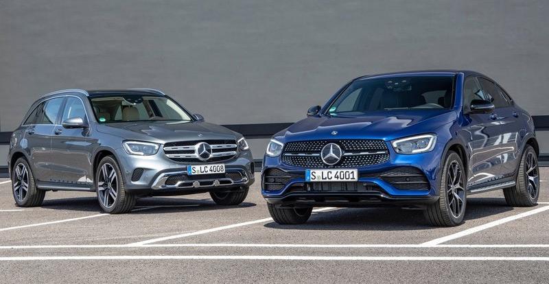 Nouveauté mondiale - Coup de jeune pour le Mercedes GLC 2020