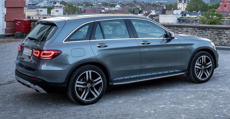 Le nouveau Mercedes GLC reçoit une nouvelle signature lumineuse full LED