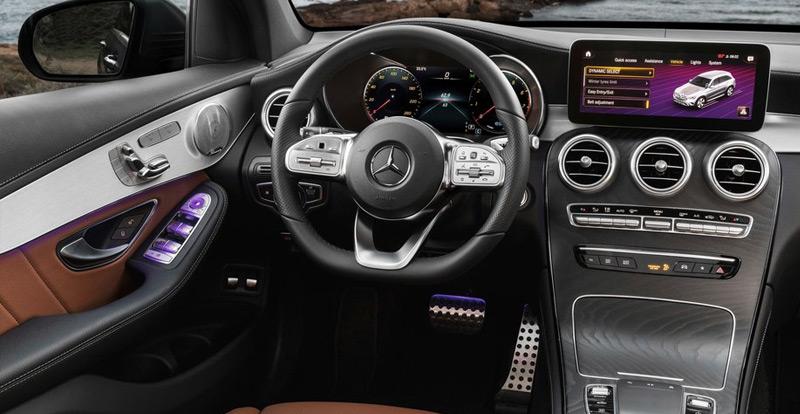 Le nouveau Mercedes GLC accueille un nouvel écran central évolué