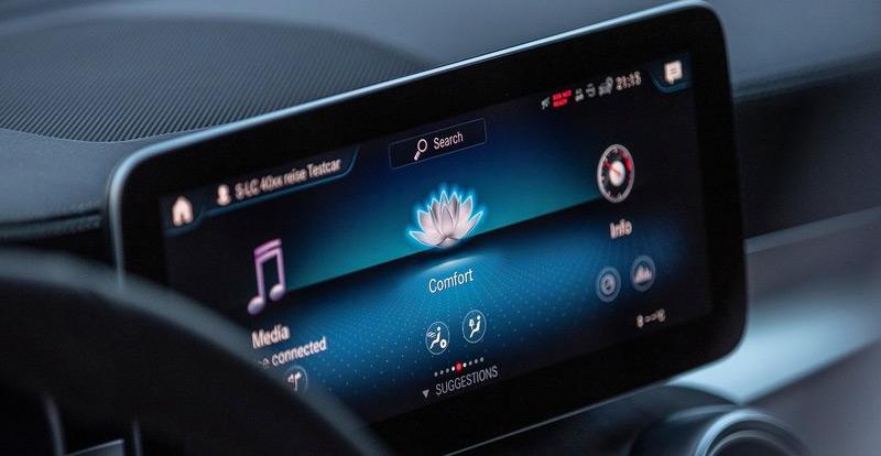 La connectivité du GLC explose à  bord du nouveau Mercedes GLC 2020