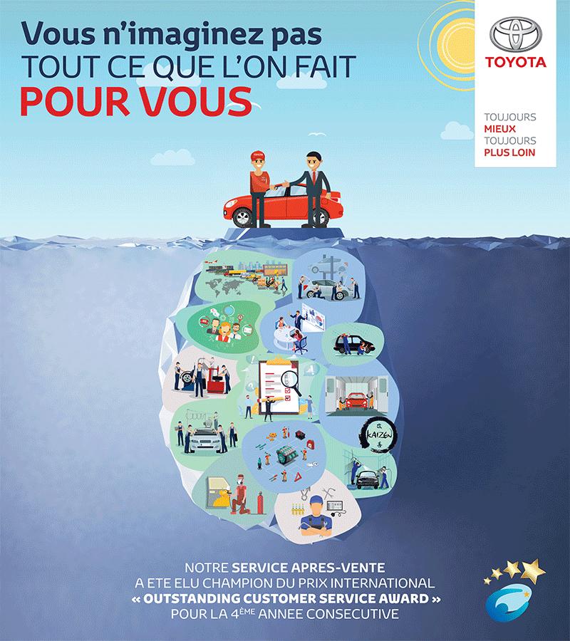 Toyota du Maroc reçoit cette distinction mondiale pour la 4ème année consécutive !