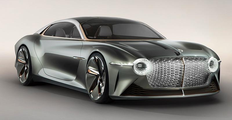 Inédit - BENTLEY EXP 100 GT : le coup du siècle !