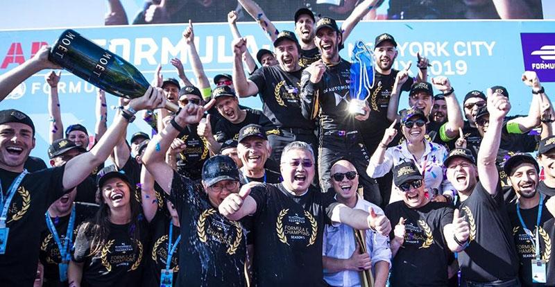 Actu. internationale - DS Techeetah et Jean-Eric Vergne sacrés en Formule E