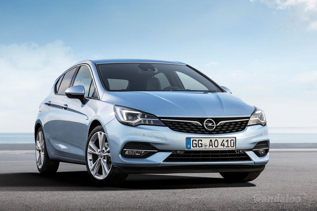 OPEL Astra facelift 2020