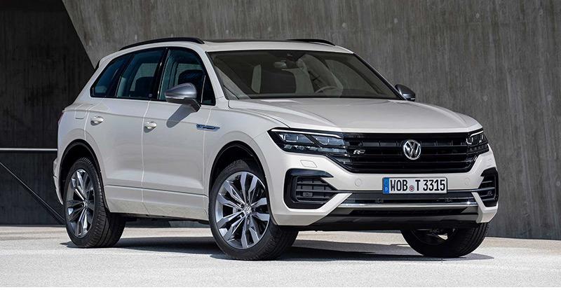 Le VW Touareg « One Million » ici en finition « R-line »