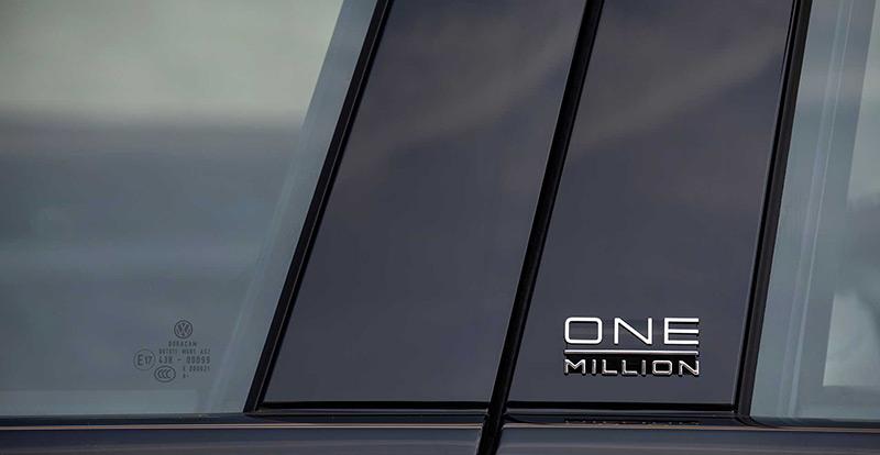 Le VW Touareg « One Million » a été fabriqué de l\'usine de Bratislava, en Slovaquie.