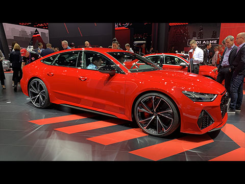Nouveautés Audi au salon de Francfort 2019
