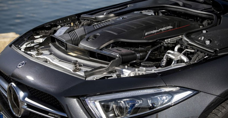 Actu. internationale - Mercedes dit « STOP » aux moteurs thermiques !
