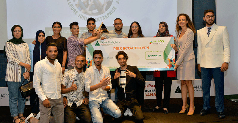 Actu. nationale - Vivo Energy Maroc décerne le prix de l'écocitoyenneté à « Eco-Tire »