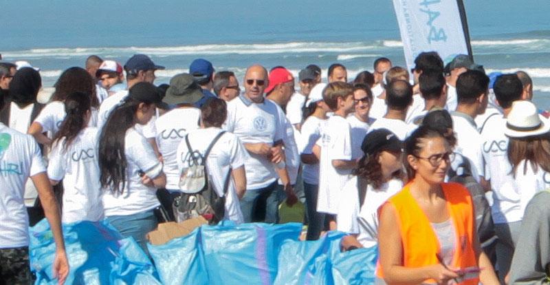 L'ensemble des collaborateurs de la CAC et bon nombre de ses partenaires, ainsi que leurs familles, ont pris part à cette action