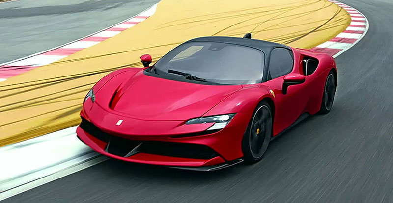 Actu. internationale -  Ferrari dévoile sa supercar hybride rechargeable SF90 Stradale