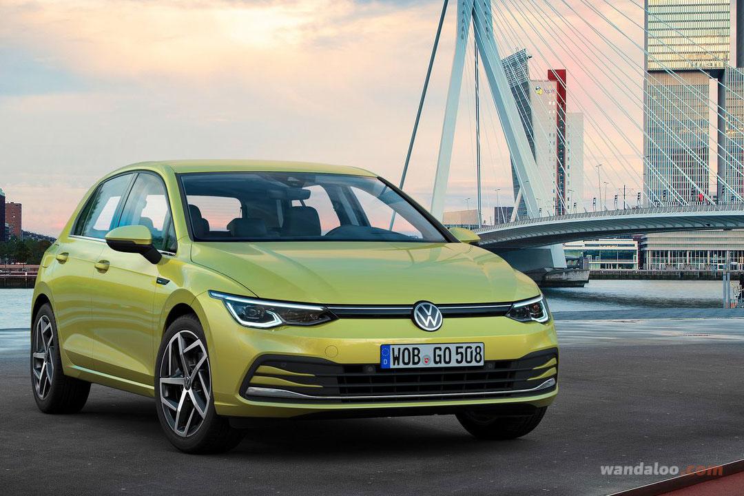 Nouvelle VW Golf 8
