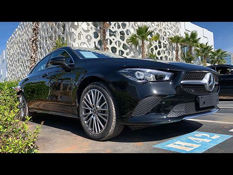 Nouveau Mercedes CLA introduit au Maroc