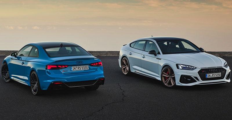 Nouveauté mondiale - Un supplément debestialitépour les AUDI RS 5 Coupé et Sportback Phase 2