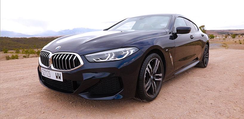 Essai - Le grand huit émotionnel au volant de la BMW Série 8 Gran Coupé