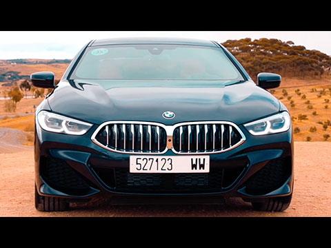 Essai de la BMW Série 8 Gran Coupé Maroc