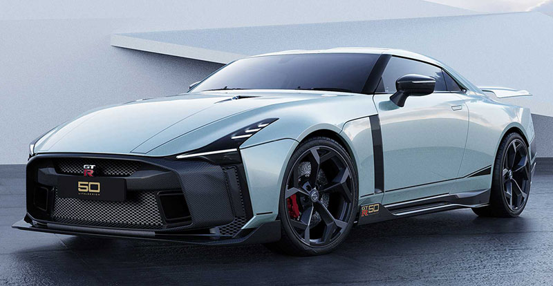 Actu. internationale - NISSAN GT-R50 Italdesign : «Oh My Godzilla!»