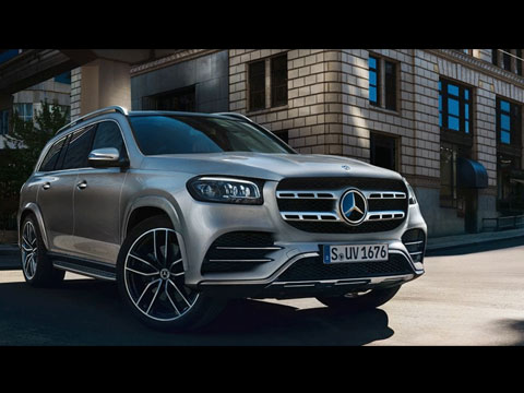 Mercedes GLS 2020 - le film officiel