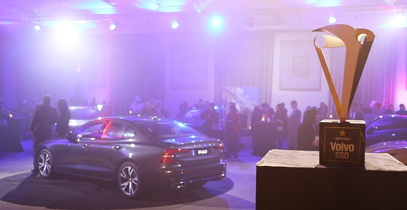 Actu. nationale - La VOLVO S60 sacrée Car Of The Year 2020 au Maroc !
