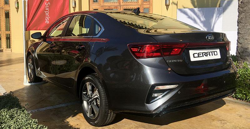 La nouvelle KIA Cerato est introduite avec deux niveaux de finition et une seule motorisation diesel de 136 chevaux