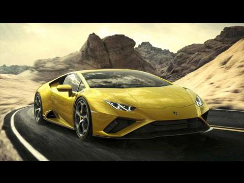 Lamborghini revient à la traction arrière