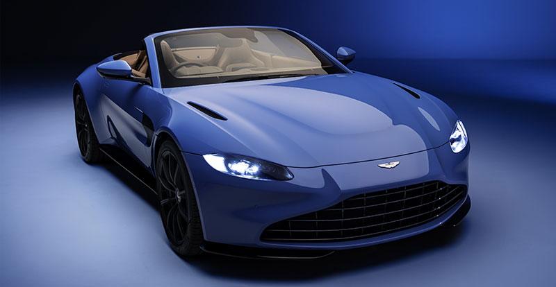 Nouveauté mondiale - L'ASTON MARTIN Vantage Roadster ou l'effeuillage ultra-hot d'une Lady !