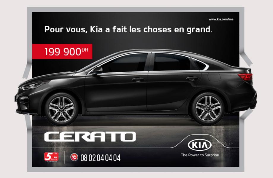 Kia Kia neuve en promotion au Maroc
