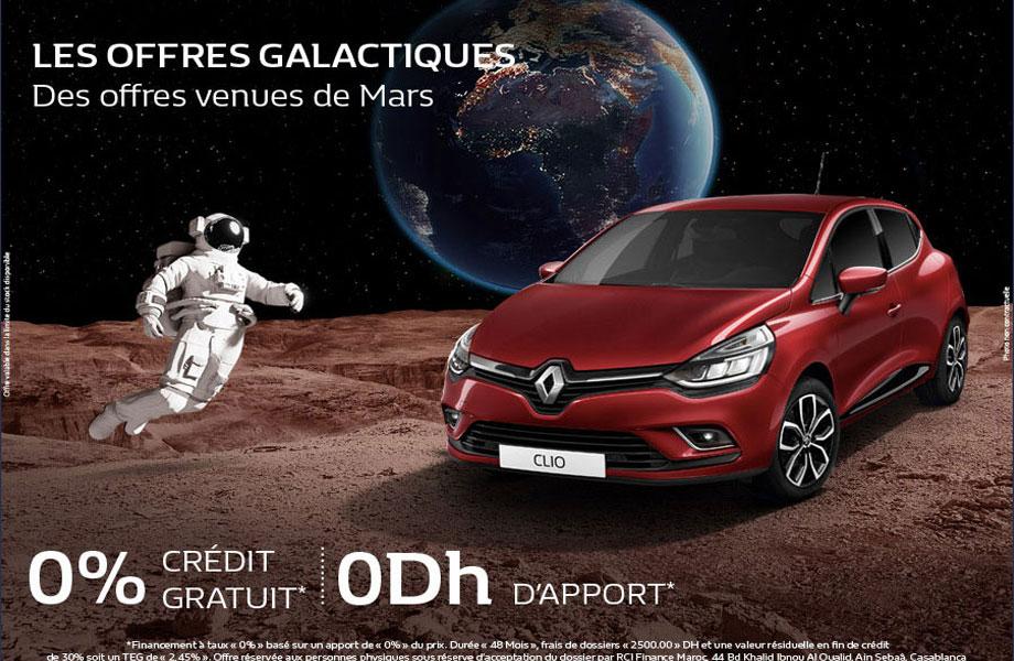 Renault Renault neuve en promotion au Maroc