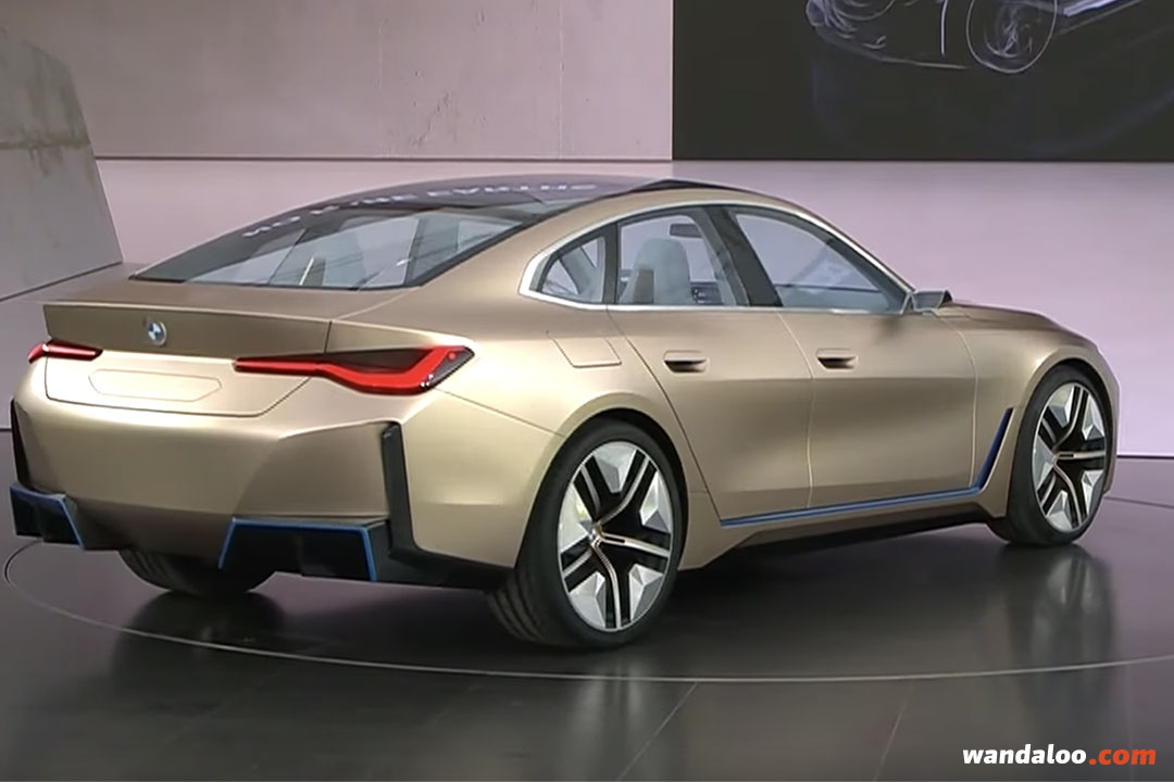 bmw i4 concept 2020 en photos hd - wandaloo