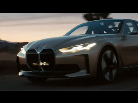 BMW Concept i4 2020 - le film officiel