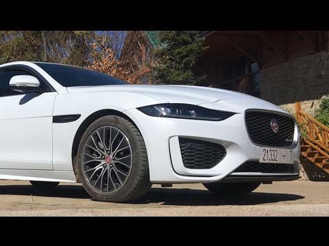 Essai de la Jaguar XE 2020 Maroc