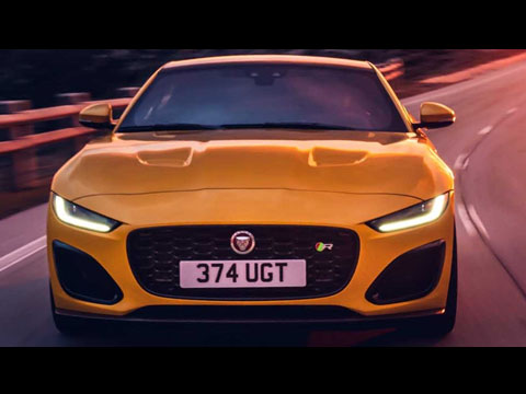 Jaguar F-TYPE 2021 - le clip officiel