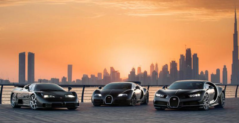 « Rien n\'est trop beau, rien n\'est trop cher ». Existe meilleure légende pour cette photo que la devise d\'Ettore Bugatti ?