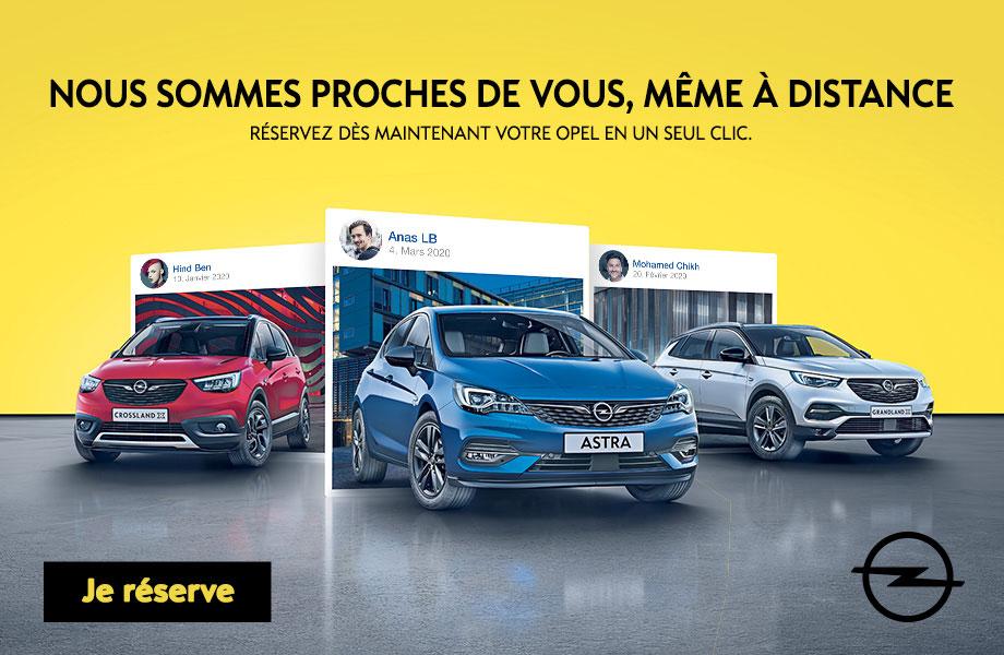 Opel Opel neuve en promotion au Maroc