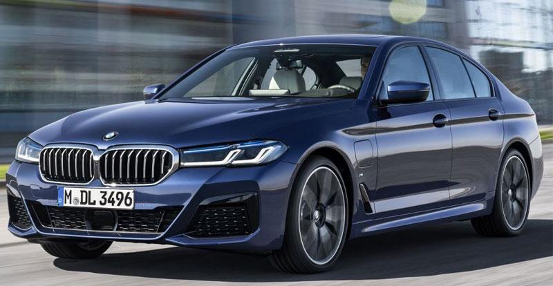 Première mondiale - La BMW Série 5 restylée soigne son look et sa dotation technologique