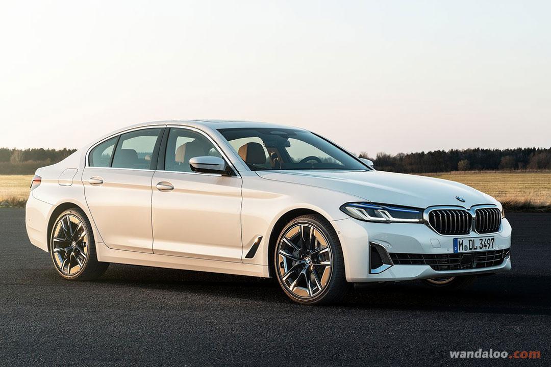 BMW Série 5 2021 facelift