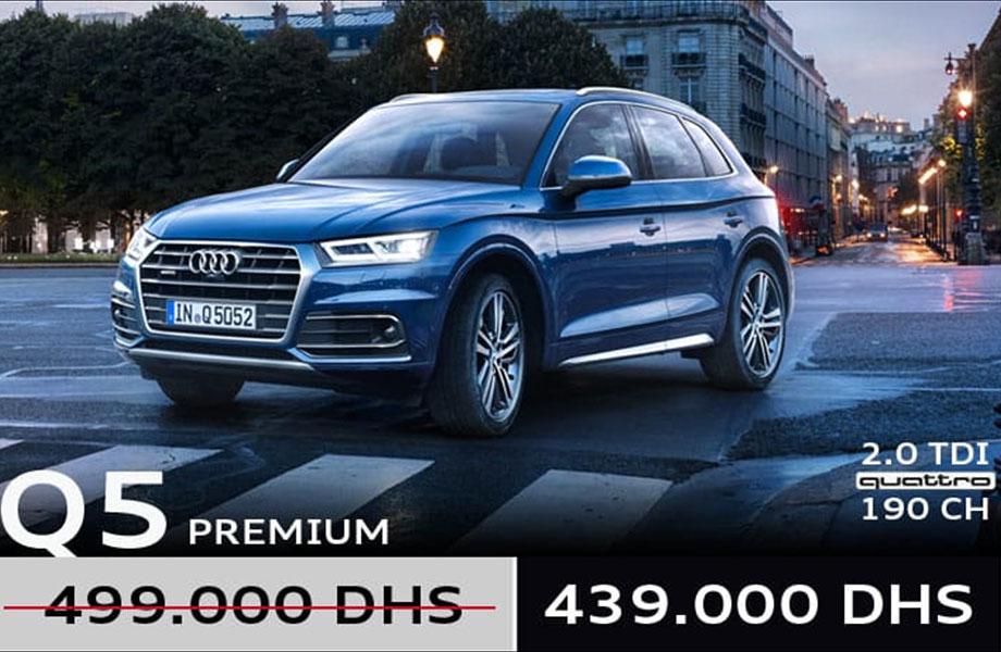 Audi Audi neuve en promotion au Maroc