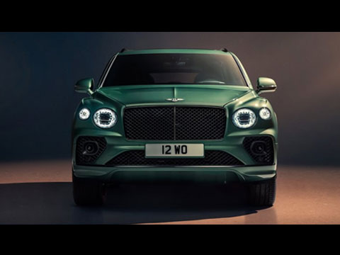 BENTLEY Bentayga 2021 - le reveal