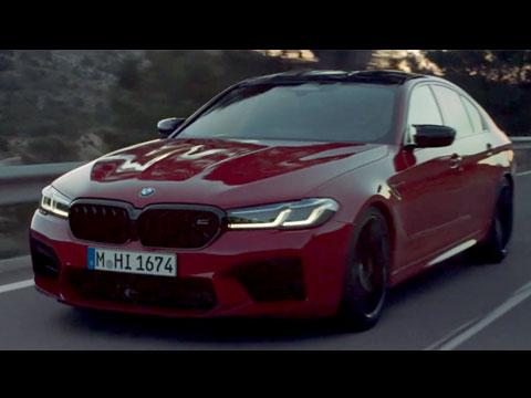 BMW M5 2020 - le spot ofiiciel