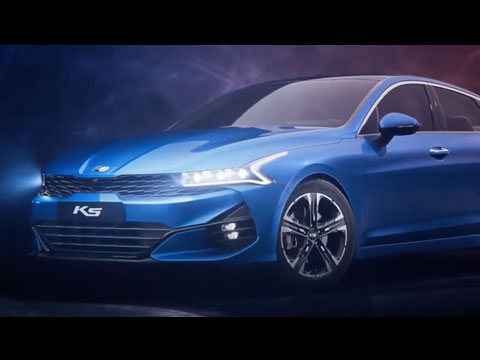 KIA K5 2021 - le spot officiel
