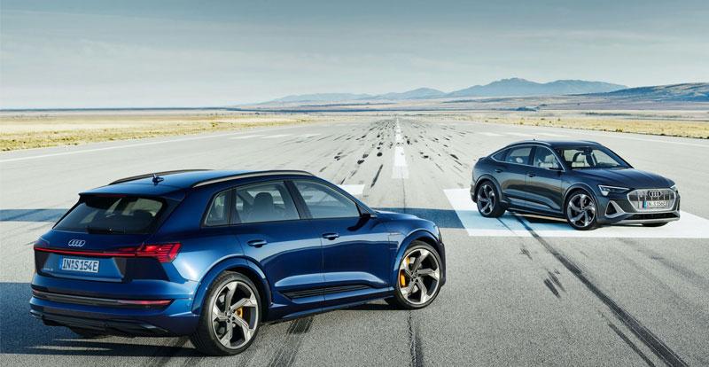 Première mondiale - AUDI dévoile les survoltés e-tron S et e-tron Sportback S