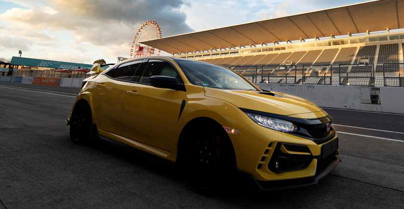 Actu. internationale - La HONDA Civic Type R Limited Edition claque un temps record à Suzuka !