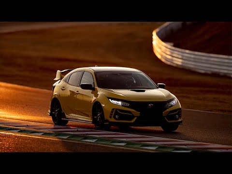 La HONDA Civic Type R... comme record