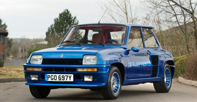 Actu. internationale - RENAULT Sport célèbre les anniversaires de la R5 Turbo, de la Clio V6 et du Spider