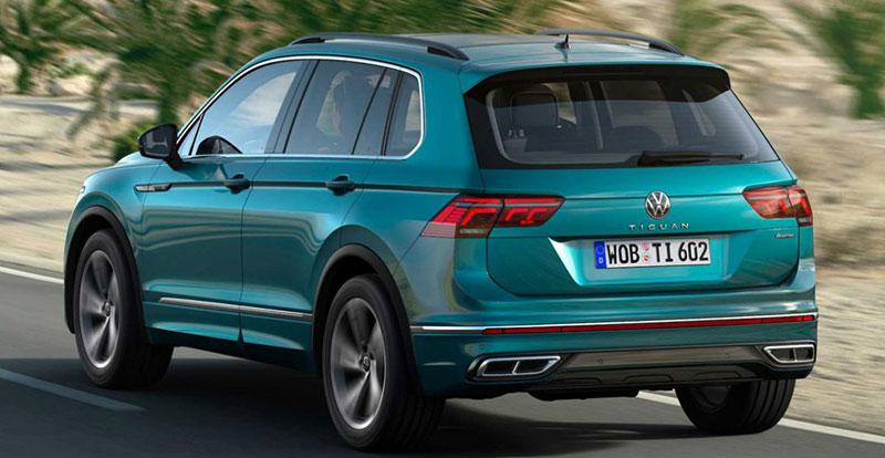 إعادة تصميم VW Tiguan 2021: أكمل من أي وقت مضى!   Maroc ...