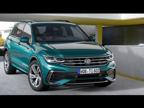 VW Tiguan 2021 - les premières infos