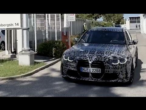 BMW lève un coin du voile sur la M3 Touring